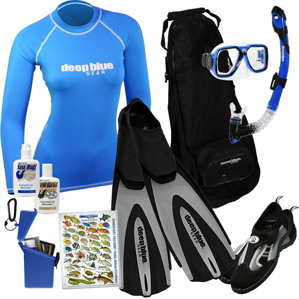 Kitchen Sink - Adult Snorkeling Set by Deep Blue Gear