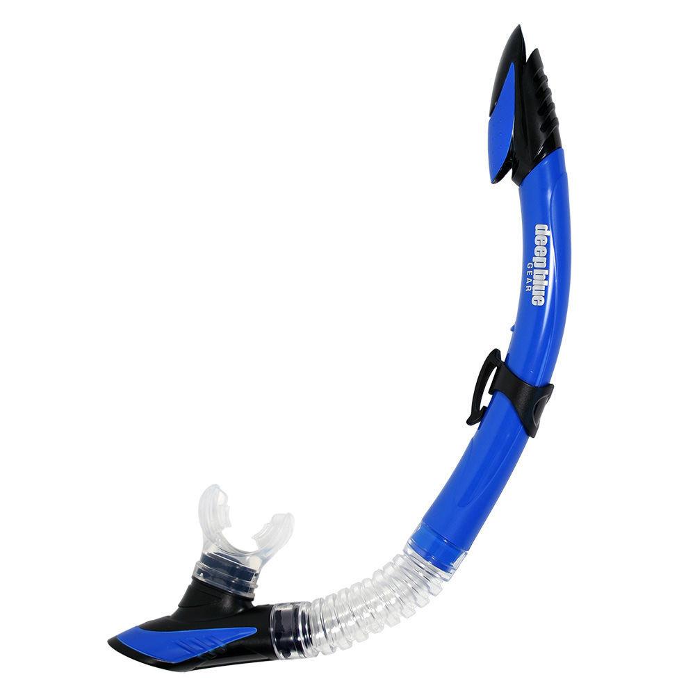 Del-Sol 2 - Semi-Dry Snorkel by Deep Blue Gear