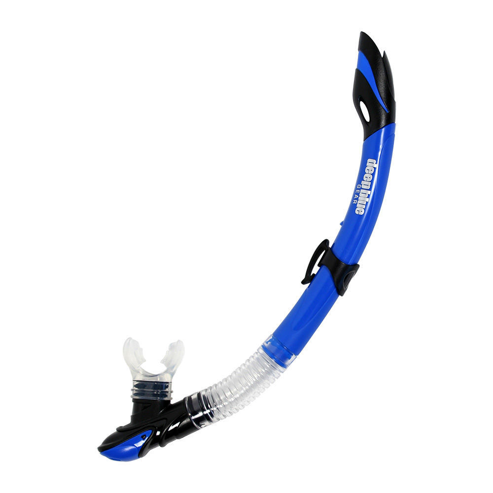 Maui 2 Junior - Kid's Semi-Dry Snorkel by Deep Blue Gear