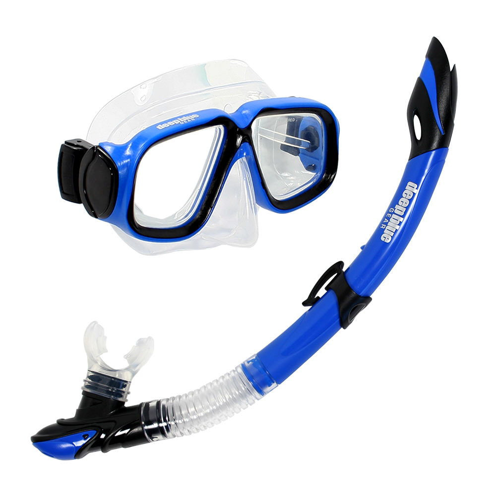 Maui Junior - Kids Mask and Snorkel Set by Deep Blue Gear