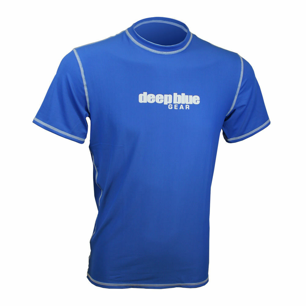 Casual Fit Short Sleeve Rashguard by Deep Blue Gear