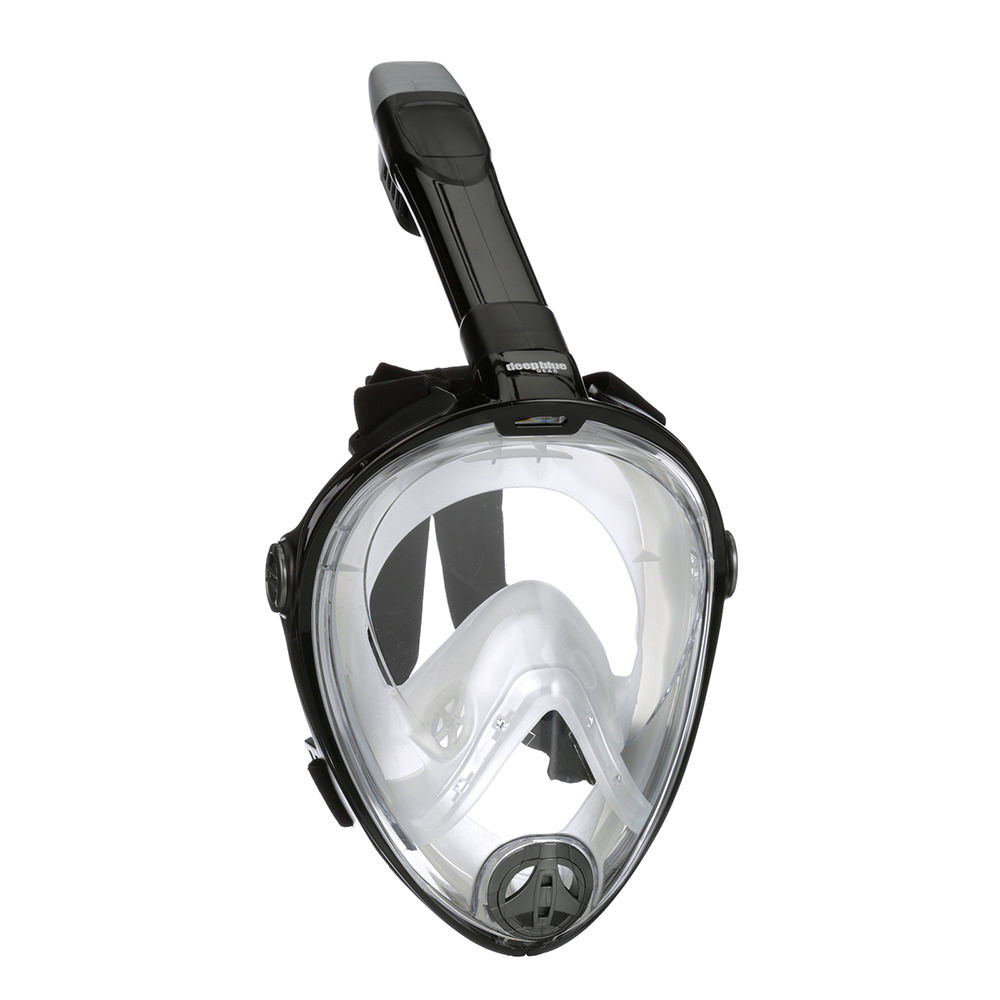 Buddy Full Face Mask - Adult Snorkeling Set by Deep Blue Gear