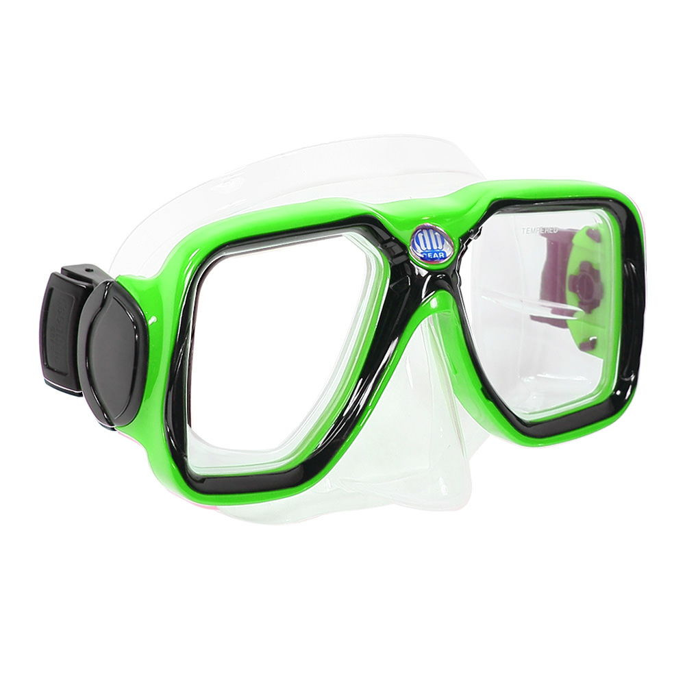 Maui - Adult Mask and Snorkel Set by Deep Blue Gear