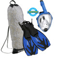 Kid's Full Face Mask - Snorkeling Set