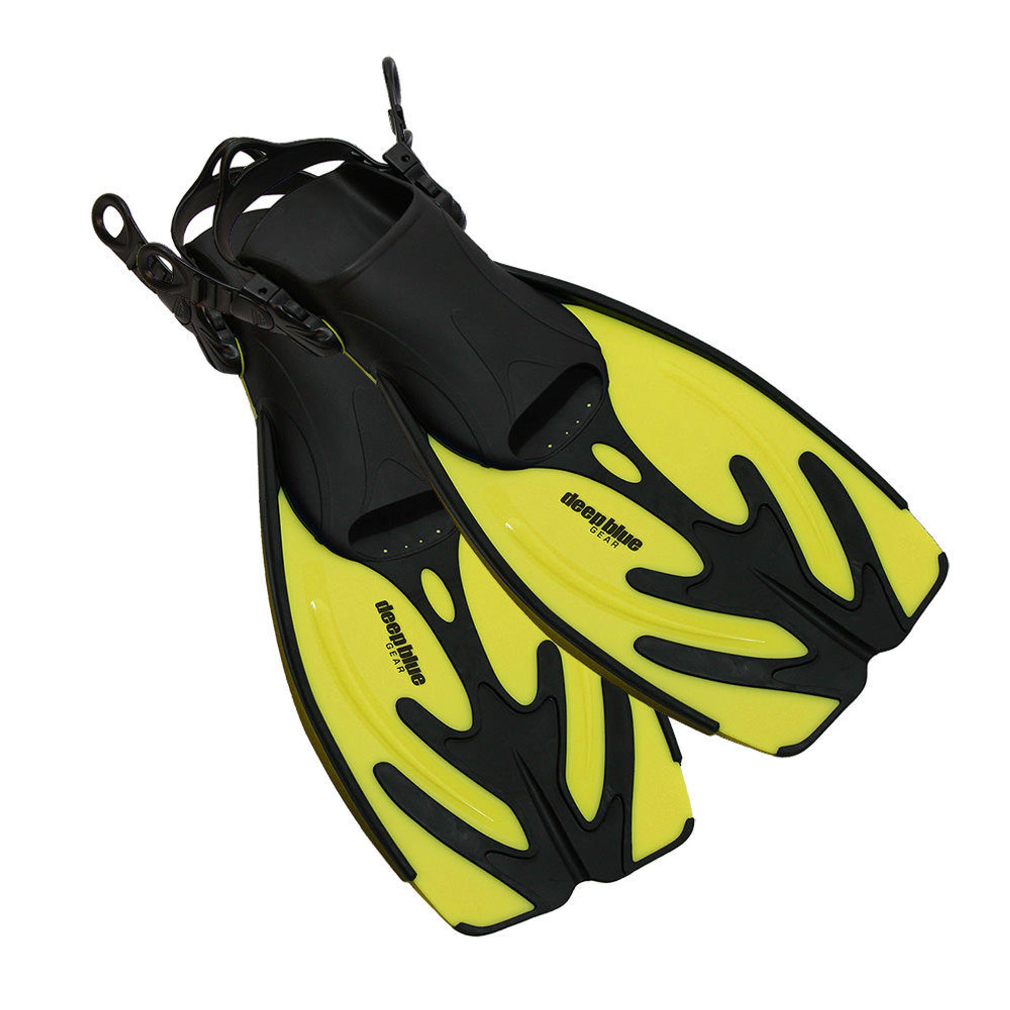 Current - Kid's Adjustable Snorkeling Fins