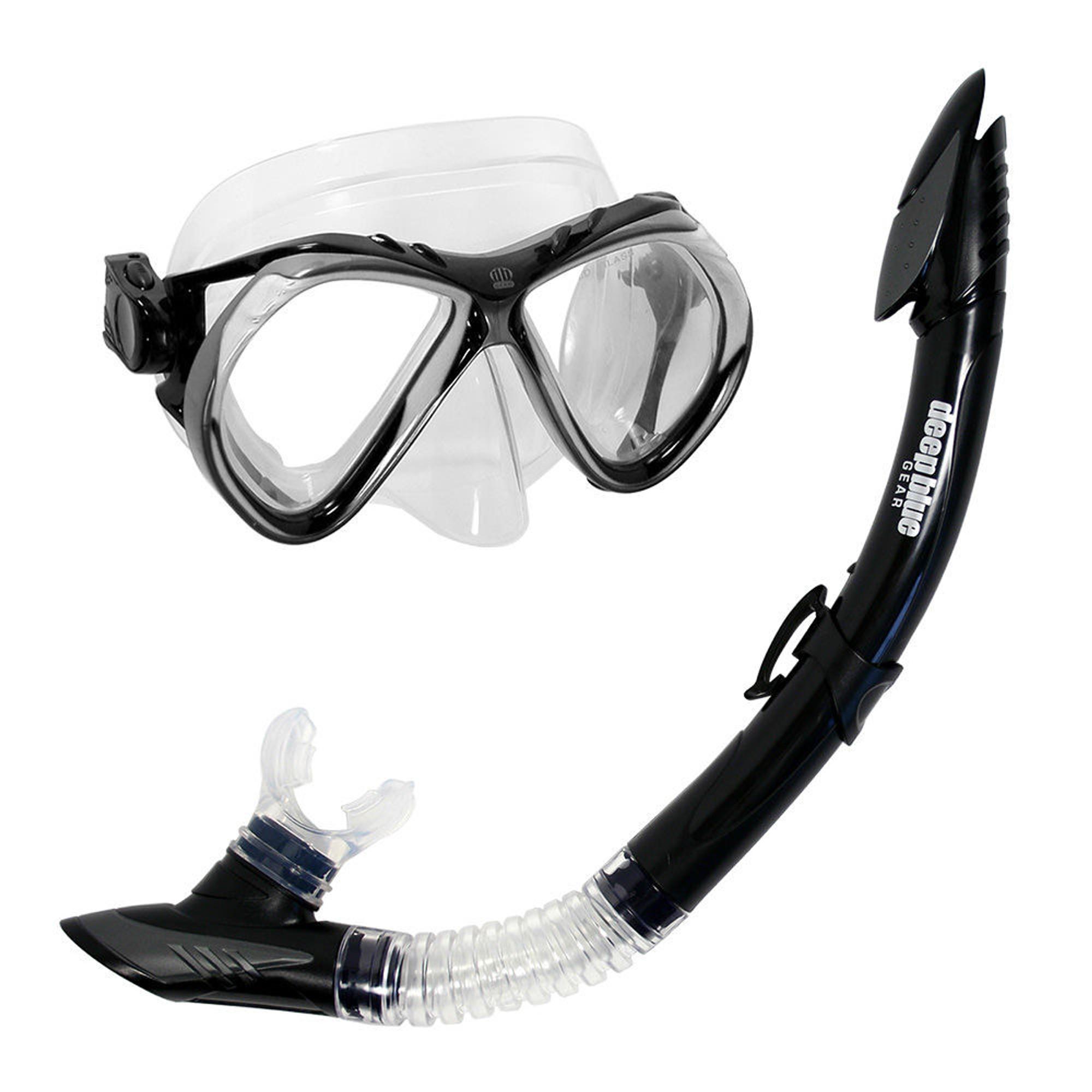 Del Sol 2 - Adult Mask and Snorkel Set