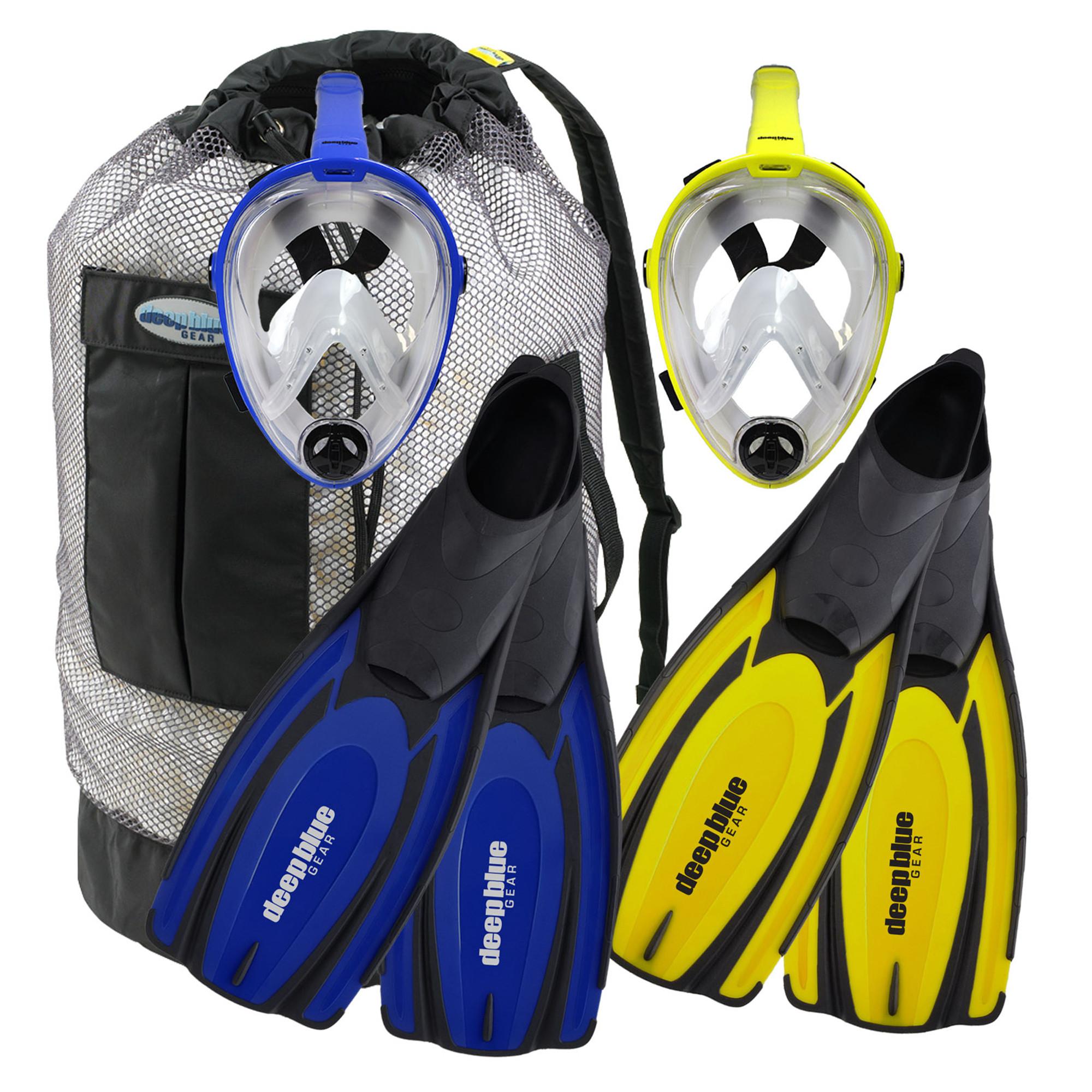 Buddy Full Face Mask - Adult Snorkeling Set