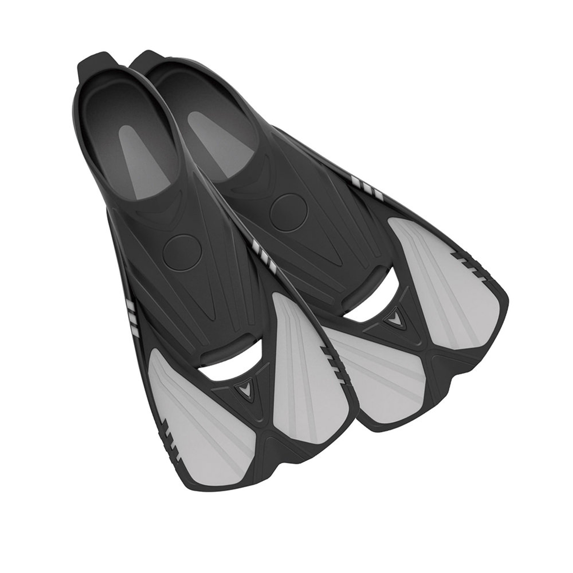 Aqualine - Short Snorkeling Swim Fins