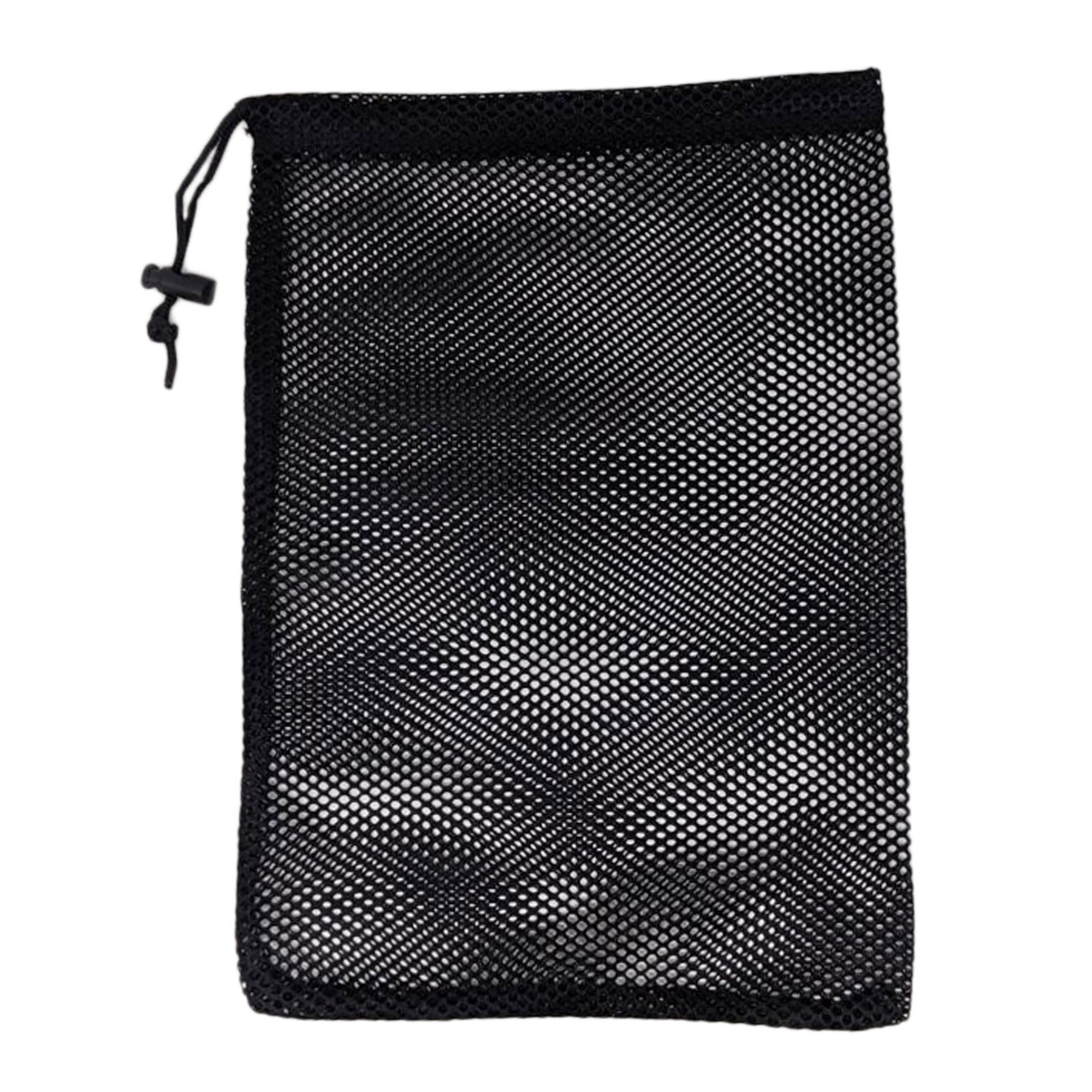 Mesh Full Face Mask Drawstring Bag