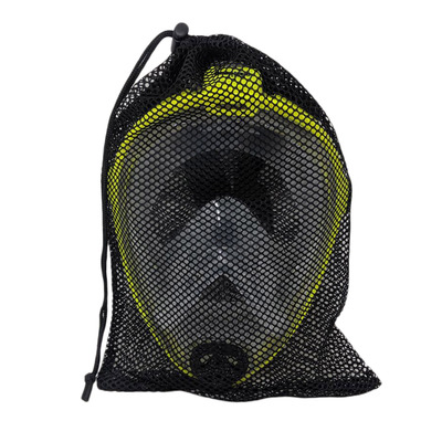 Mesh Full Face Mask Drawstring Bag