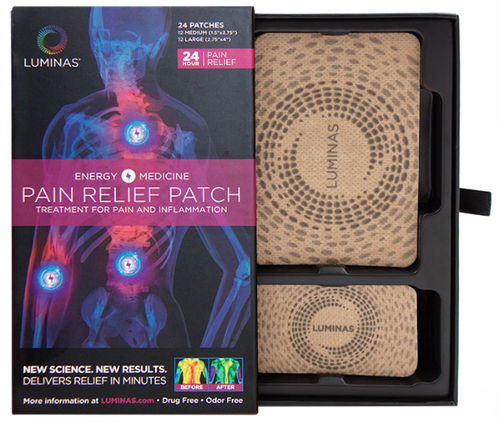 Relief Tan (24 Water Resistant Pain Relief Patches)