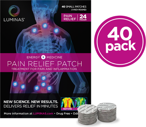 Relief Small (40 Pain Relief Patches)