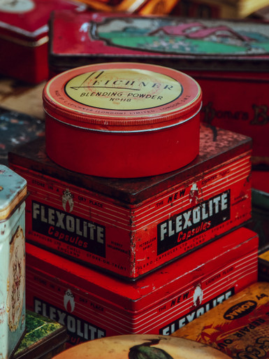 3 Tin Boxes London