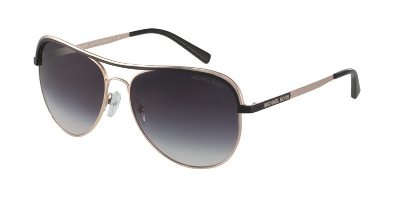 Aviator-style frames women's brand name designer Michael Kors glasses