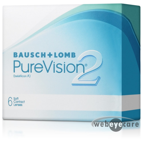 PureVision 2 HD 6 Pack contact lenses