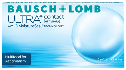 Bausch and Lomb Ultra Multifocal for Astigmatism 6 Pack