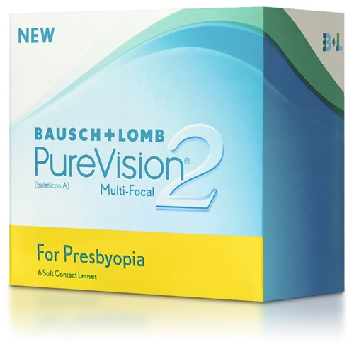 PureVision 2 For Presbyopia (6 Pack) contact lenses