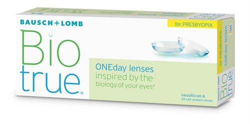 Biotrue ONEday for Presbyopia (30 Pack) contact lenses