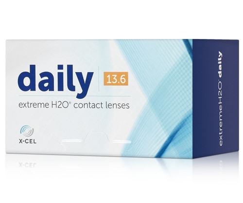 Extreme H2O Daily (30 Pack) contact lenses