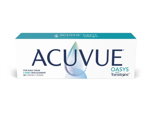 Acuvue Oasys with Transitions (25 pack)