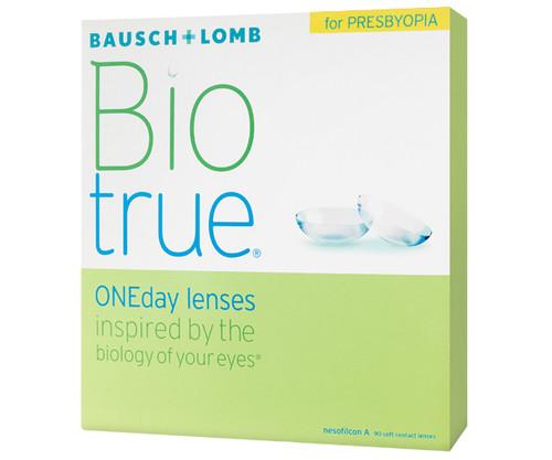 Biotrue ONEday for Presbyopia (90 Pack) contact lenses