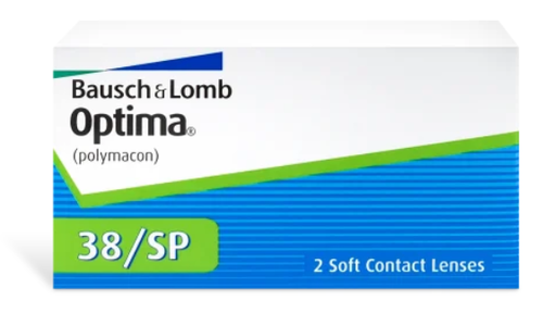 Optima 38/SP 2 Pack contact lenses
