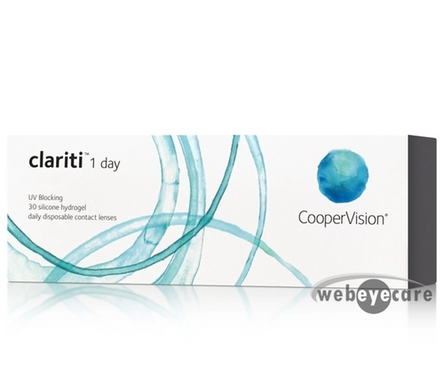 Clariti 1 Day 30 Pack contact lenses