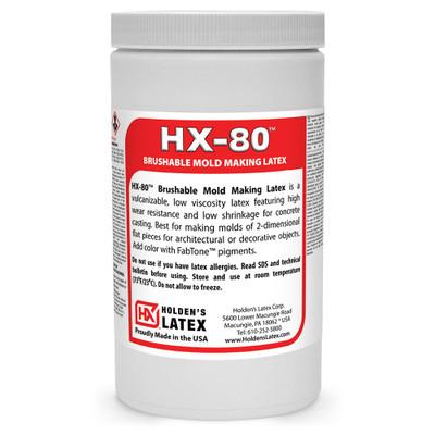 Quart of liquid latex