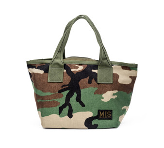 Mini Tote Bag - Woodland Camo