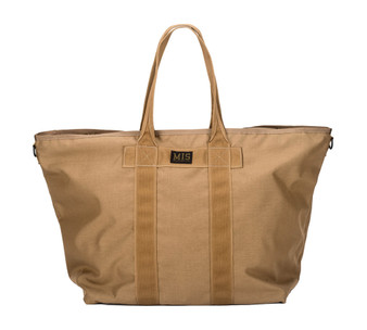 Super Tote Bag - Coyote Brown - Front