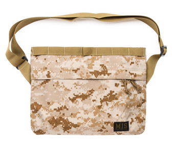 Padded Shoulder Bag - MarPat Desert - Front
