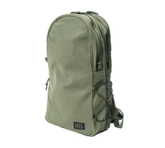 Mesh Backpack - Camo Green - Front
