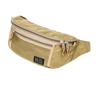 Mesh Waist Bag - Coyote Tan - Front