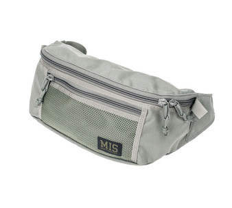 Mesh Waist Bag - Foliage - Front