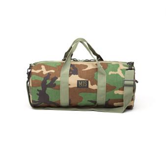 Training Drum Bag Small - Woodland Camo - Front