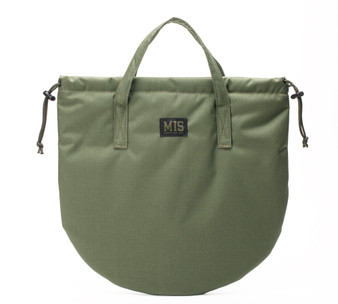 UK Helmet Bag - Camo Green - Front