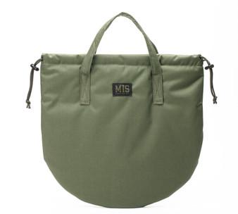 UK Helmet Bag - Camo Green - Front