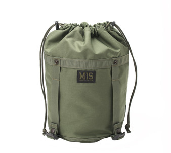 Compression Stuff Sack Small - Camo Green - Front Close