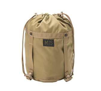 Compression Stuff Sack Small - Coyote Tan - Front Close