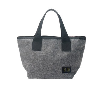 Mini Tote Bag - Denim Grey - Front