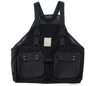 Hunting Vest - Black - Front