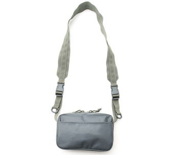All Weather Shoulder Bag - Foliage - Back with Strap