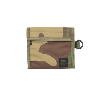 Folding Wallet - Woodland Camo - Front