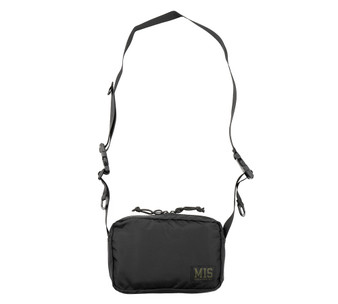 All Shoulder Bag Small - Black - Front with Strap