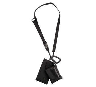 Tactical Key Strap Set - Black - All