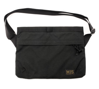 Padded Shoulder Bag - Black