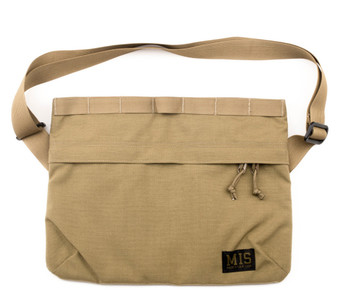 Padded Shoulder Bag - Coyote Tan
