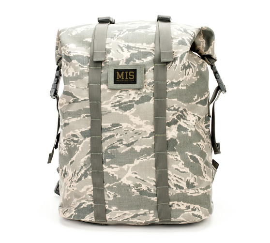 Roll Up Backpack - ABU Camo - Front