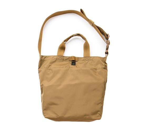 2Way Shoulder Bag - Coyote Brown - Front