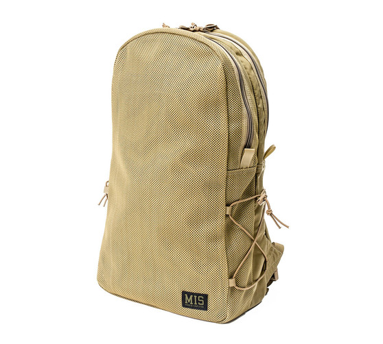 Mesh Backpack - Coyote Tan - Front